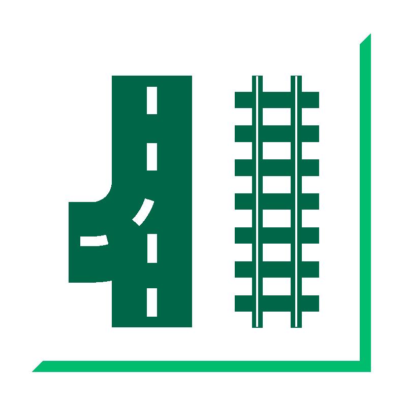 Infrastruktur Gleis/Straße